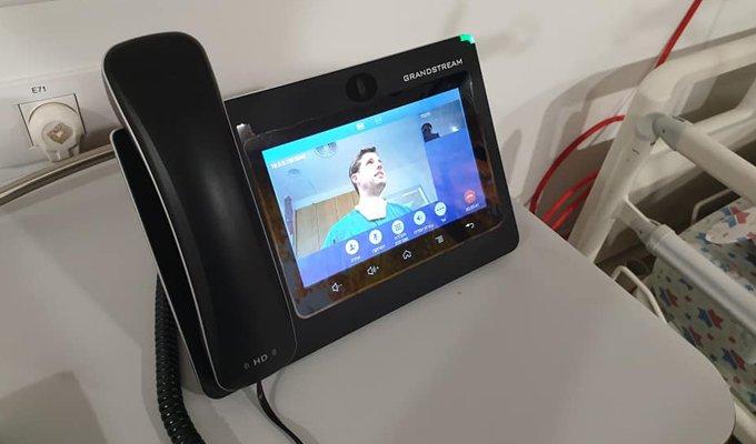 , טלפונים של GXV המשמשים ליצירת פתרונות למגזר הבריאות