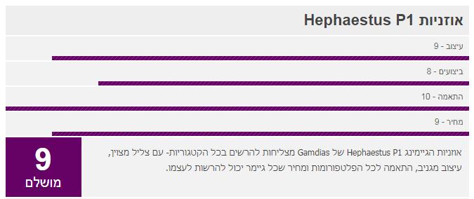 , סקירה אוזניות, gamdias, GAMDIAS, אוזניות, Gamdias Hephaestus E1, Gamdias Hephaestus P1