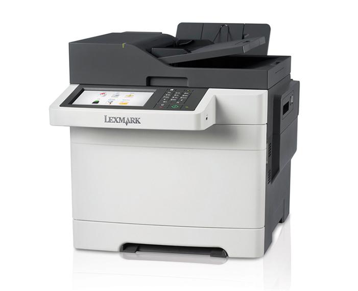 1505 CX510de dhe left copy, מדפסות לייזר לקסמרק, מדפסות לייזר משולבות לקסמרק, מדפסות לייזר משולבות lexmark, מכונות צילום משולבות konica minolta, מדפ