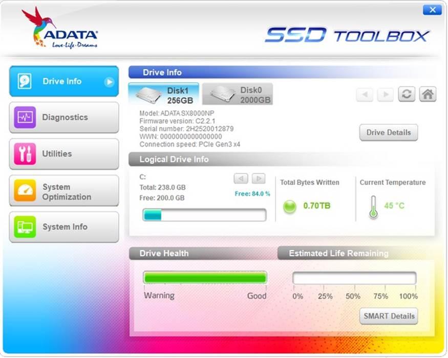 , ADATA SX8000
