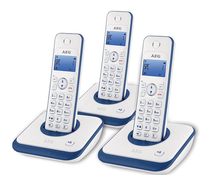 AG 3000 hi, טלפון שולחני aeg