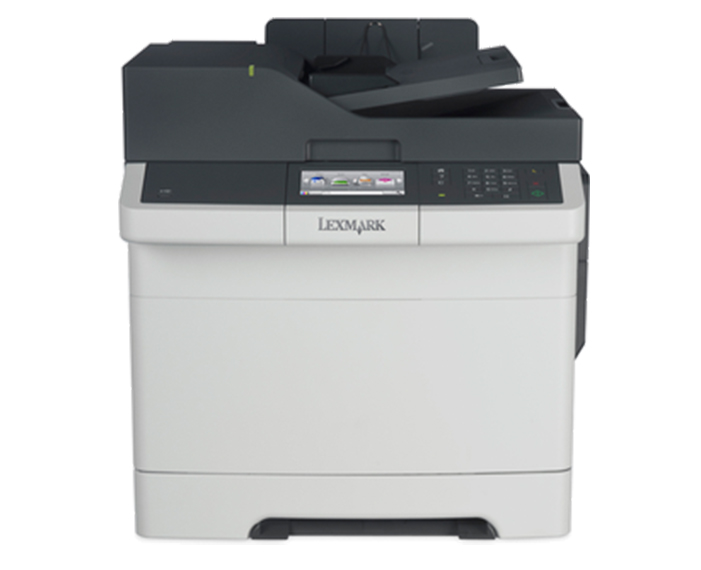 CX417DE 2, מדפסות לייזר לקסמרק, מדפסות לייזר משולבות לקסמרק, מדפסות לייזר משולבות lexmark, מכונות צילום משולבות konica minolta, מדפ