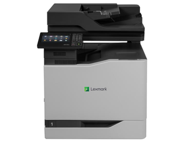 CX820DE 1, מדפסות לייזר לקסמרק, מדפסות לייזר משולבות לקסמרק, מדפסות לייזר משולבות lexmark, מכונות צילום משולבות konica minolta, מדפ