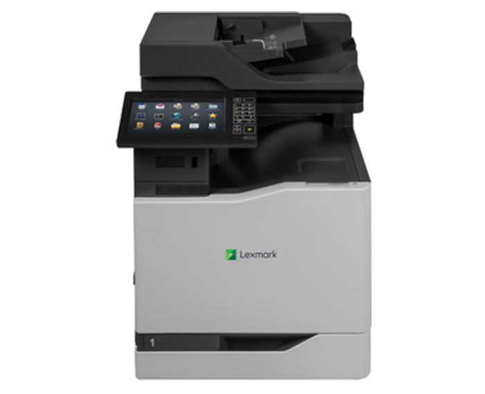 CX825DE, מדפסות לייזר לקסמרק, מדפסות לייזר משולבות לקסמרק, מדפסות לייזר משולבות lexmark, מכונות צילום משולבות konica minolta, מדפ