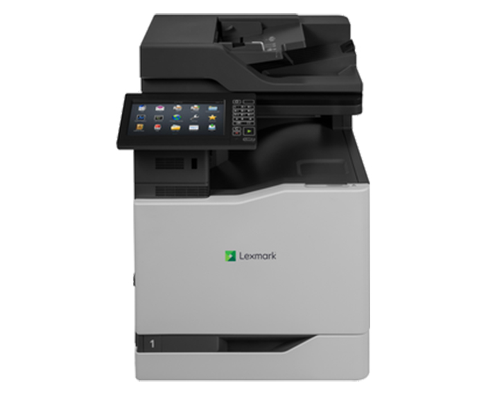 CX860DE, מדפסות לייזר לקסמרק, מדפסות לייזר משולבות לקסמרק, מדפסות לייזר משולבות lexmark, מכונות צילום משולבות konica minolta, מדפ