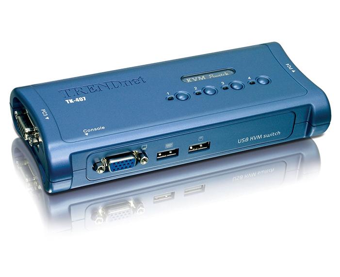 TK407K, קופסאת מיתוג טרנדנט, קופסאת מיתוג trendnet, תשתיות תקשורת