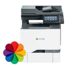 cx725 מדפסת משולבת צבע