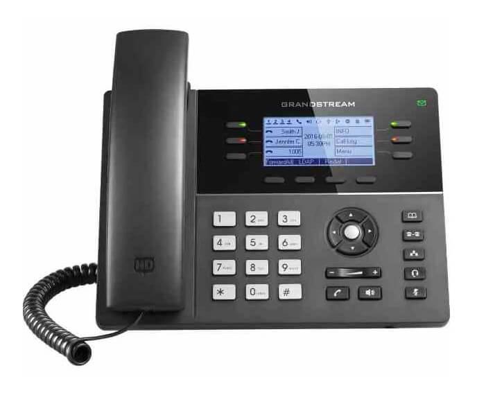 gxp1760 website front, טלפון שולחני aeg, פתרונות לניהול מוקד טלפוני