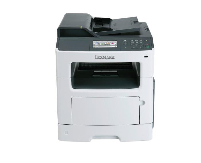 mx410de, מדפסות לייזר לקסמרק, מדפסות לייזר משולבות לקסמרק, מדפסות לייזר משולבות lexmark, מכונות צילום משולבות קוניקה מינו�