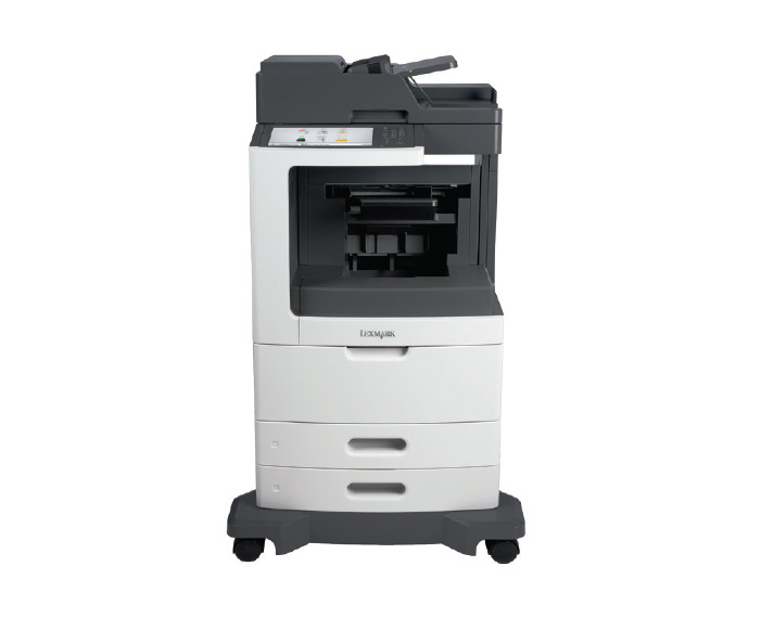 mx810dfe, מדפסות לייזר לקסמרק, מדפסות לייזר משולבות לקסמרק, מדפסות לייזר משולבות lexmark, מכונות צילום משולבות קוניקה מינו�
