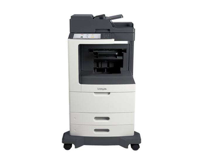 mx812dfe, מדפסות לייזר לקסמרק, מדפסות לייזר משולבות לקסמרק, מדפסות לייזר משולבות lexmark, מכונות צילום משולבות קוניקה מינו�